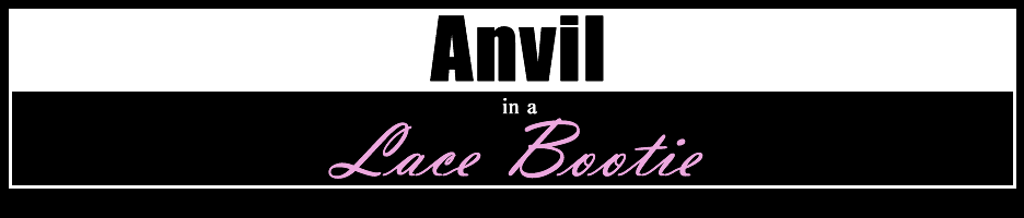 Anvil in a Lace Bootie
