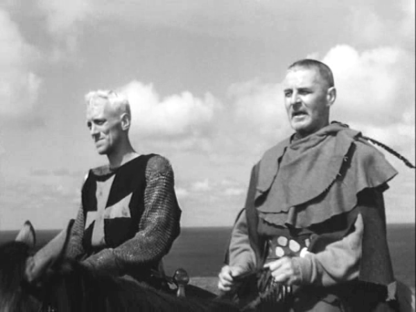 The Seventh Seal -The Knight and The Squire