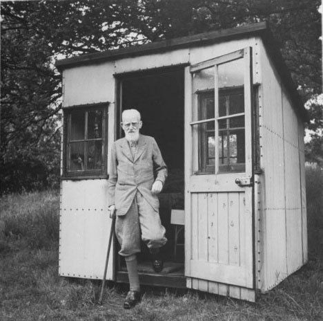 george bernard shaw hut