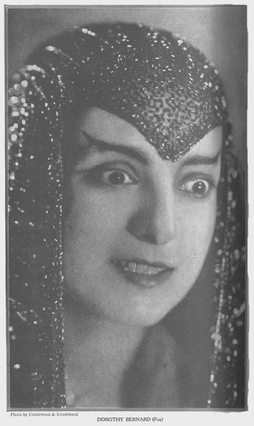silent film actress dorothy bernard